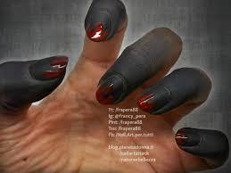 halloween pt 1 demone tutorial nail art nail art attack