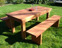 Wooden Patio Bench by Bench 14 Wood Patio Table Outdoor Wooden Garden Table Wood