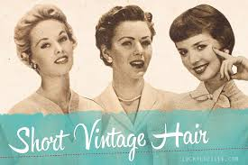 shingle haircut the 1920s also known as the roaring short vintage hair lucky lucille