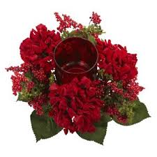 Candle Holders Decorated With Flowers Christmas Centerpieces You U0027ll Love Wayfair