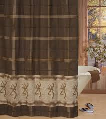 Shower Curtains Rustic Rustic Shower Curtains Moose Pinecone Designs