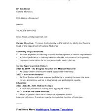 Medical Doctor Resume Example Resumeexamples11 Mbbs Doctor Resume Sample Medical Doctor Resume