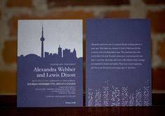 wedding invitations toronto big city new york city wedding invitations by hooray creative at