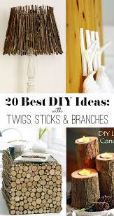 Easter Decorations Using Twigs by 20 Best Diy Ideas With Twigs Sticks And Branches Shabby Diy