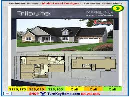 Multi Level Floor Plans Tribute Rochester Modular Home Cape Cod Multi Level Plan Price