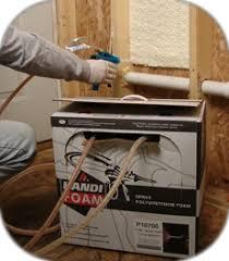 spray foam insulation kits low pressure expanding polyurethane