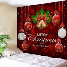 w59 inch l51 inch wall decor merry bell