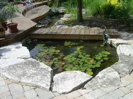bridge design ideas patio eclectic with outdoor statues fish pond