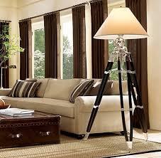 Pottery Barn Floor Lamps Interesting Ideas Photographer S Tripod Floor Lamp Valuable Design