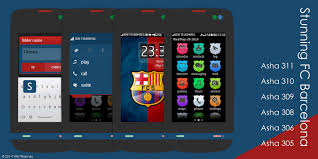 themes nokia asha 308 download fc barcelona themes for asha 305 full touch wb7theme