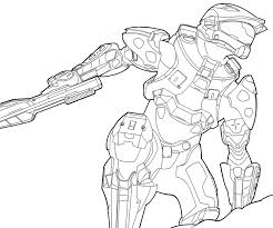 car coloring cars pages halo master chief printable 3 halo 3