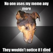 My Memes - no one uses my meme any more they wouldn t notice if i died