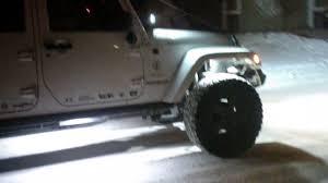 jeep wrangler rock lights jeep wrangler rock lights youtube