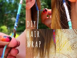 boho hair wrap diy summer hair wraps