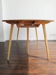 Ercol Dining Room Furniture Vintage Ercol Grand Light Elm Rectangular Extending Dining Table