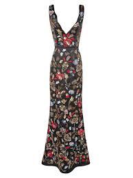 elsa drape front gown by alice olivia bm moh dresses