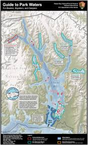 Maps Alaska by Maps Glacier Bay National Park U0026 Preserve U S National Park
