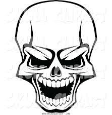Halloween Skull Drawings Skull Art Series Vectorjunky Jpg Clip Art Library