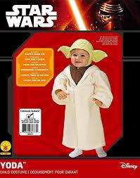 Yoda Toddler Halloween Costume Amazon Rubie U0027s Costume Star Wars Complete Yoda Costume Clothing