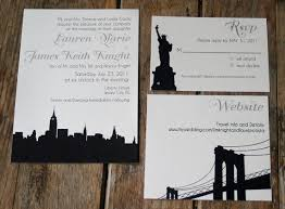 wedding invitations new york new york wedding invitations wedding invitations nyc template best