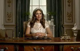 Queen Elizabeth Donald Trump Make America Great Britain Again U0027 Elizabeth Hurley Pokes Fun