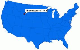 map of thermopolis wyoming thermopolis wyoming town information epodunk