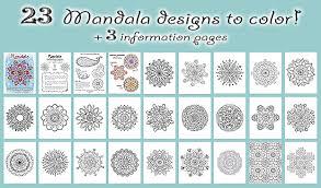 free mandala designs print free printable mandala