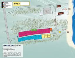 Port Huron Michigan Map by Lexington Park Sanilac County Parks