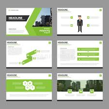 cover layout com green vector annual report leaflet brochure flyer template design