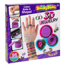shrinky dinks bake u0026 shape 3d jewelry alexbrands com