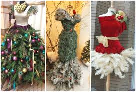 christmas tree dress form ideas youtube