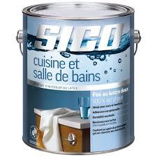 peinture cuisine salle de bain peinture cuisine et salle de bains fini lustre doux 3 78 l blanc