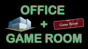 office is functional plus small game room update classic retro