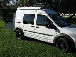 Ford Transit Connect Awning Ford Transit Connect Camper Camping Travel Insp Pinterest