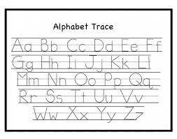 tracing abc letter worksheets archives letter u0026 calendar