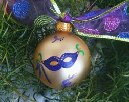 mardi gras ornament etsy