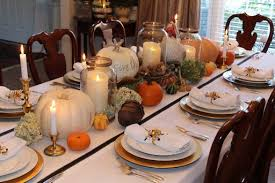 thanksgiving dinner table a decorator s dells daily dish