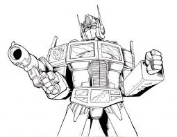 coloring page for toddlers get this free optimus prime coloring page for toddlers p97hr