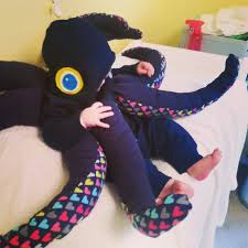 Octopus Baby Halloween Costume Effort Baby Costumes Halloween 2015 Hey Runner