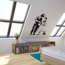 Wizard Of Oz Bedroom Decor Banksy Wizard Of Oz Stop And Search Vinyl Wall Art Decal For Home