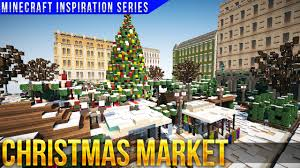 minecraft christmas market with keralis youtube