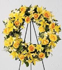 funeral wreaths happy memories funeral wreath in selma nc selma flower shop