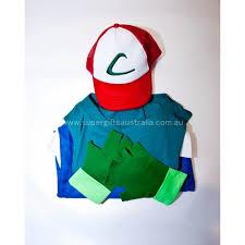 pokemon ash ketchum cosplay costume super gifts australia