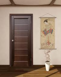 Soundproof Interior Door Lagoon Interior Door Wenge Finish Modern Home Luxury