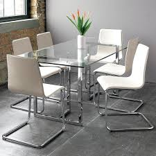 Clear Dining Room Table Transparent Dining Room Chairs Dining Room Interior Design For