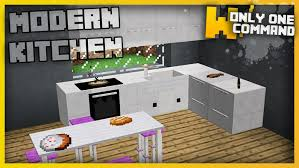 minecraft interior design kitchen modern kitchen command block 1 11 2 9minecraft net