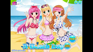 a beach day dress up games for girls video dailymotion