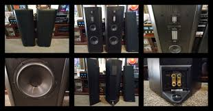 infinity home theater infinity renaissance 90 speakers garage sale the klipsch audio