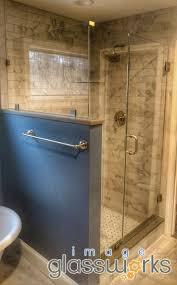 Oil Rubbed Bronze Frameless Shower Door by 121 Best Frameless Shower Doors Swinging Hinged Images On