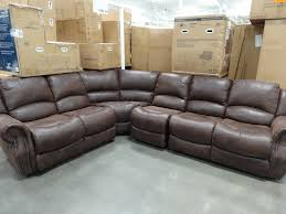 Reclining Leather Sectional Sofa Furniture Stunning Home Furniture With Cool Costco Leather